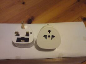 BRAND NEW ALL CONTINENTS TO UK PLUG ADAPTOR,