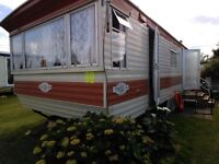 Caravan for holiday rental in hemsby