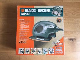 Black & Decker Sander Mouse KA150K complete set
