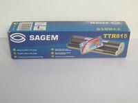 NEW UNUSED BOXED Sagem TTR815 transfer ribbon with gauge