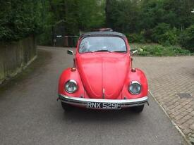 1968 VW Beetle CONVERTIBLE REDUCED FOR QUICK SALE