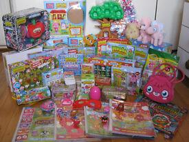 Huge Job Lot of Moshi Monster Toys House, Figures, Games, Books, Mega Blox, Plushes, etc