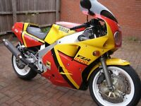 Yamaha Fzr1000 exup. 11 mths MOT. Lots of money spent. Used daily. PRICE REDUCED