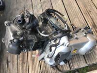 Vespa 300 engine
