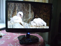 SAMSUNG 18.5 INCH TV, MODEL B1930HD, AS NEW CONDITION