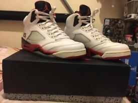 Nike Jordan Fire Red 5 uk 6