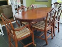 Mahogany Dining Room Furniture Set