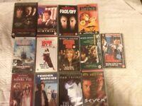 VHS Movies x 40