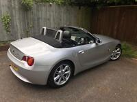 BMW 3.0 Z4 Fully loaded sports convertible £4400 reduced price (or nearest offers considered)