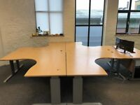 Large office computer desks x7