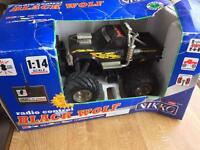 "Remote controlled ""Black Wolf"" - no controller"