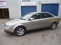 Audi A4 SE,4 dr saloon,1 previous owner,2 keys,nice clean tidy car,runs and drives well,only 76,000