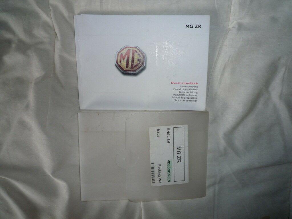 mg rover user manual