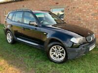 2004 BMW X3 - 1 YEARS MOT - JUST FULLY SERVICED - SUPERB DRIVE - BARGAIN