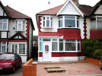 THREE BEDROOM HOUSE | TO LET | MEADOW WAY | WEMBLEY | HA9