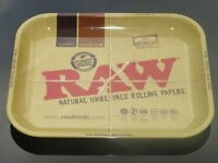 Raw Metal Rolling Trays