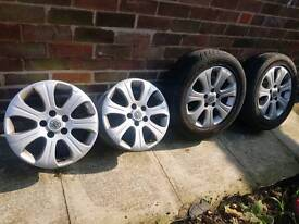 "16"" Vauxhall alloys"