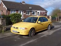 MG ZS 1.8. Yellow For parts or repair.