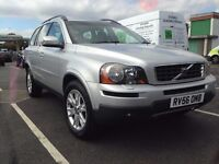 Volvo XC90 2.4 AWD D5 Geartronic 6 speed Reg. 56 model 2007 2nd Owner 7 seater