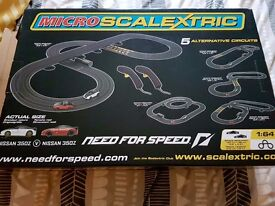 Micro scalextric need for speed limited edition