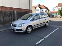 Vauxhall Zafira 1.6 Petrol Seven Seater year 2007 Very Low Mileage and HPI Clear