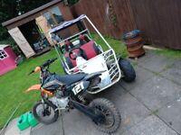 Quadzilla 150cc Buggy