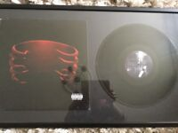 Collectors pieces of Tool and Nine inch Nails