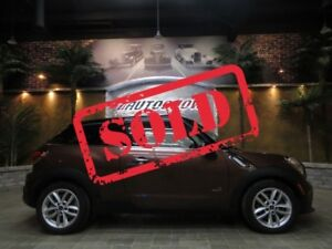 2013 MINI Cooper Paceman S ALL4 AWD, HTD LTHR, DUAL ROOF