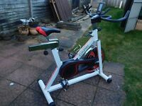 Unwanted Christmas Gift, Care Fitness Speed Racer, Spin bike