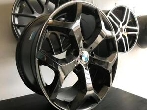 """CLEARANCE! BMW X5/X6 New 20"""" ALLOY REPLICA STAGGERED WHEELS 5x120 BOLT PATTERN; N.104"""