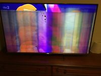 Selling my broken TV Phillips 55 inch