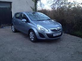 Vauxhall corsa 1.2 2013 only 24500 miles PRICE REDUCED £3995