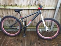 """X Rated Jump Bike 26"""" Wheels"""