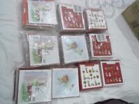 Christmas Cards **NEW** 400 in sealed packs with envelopes!!