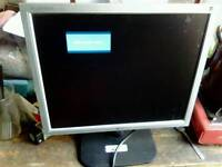 LG Flatron computer monitor screen