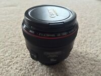 Canon EF 50mm f/1.2L USM (Near Mint)