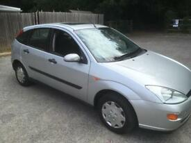 Ford Focus 1.8 petrol cheap and cheerful