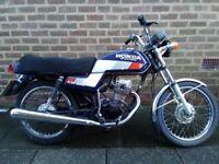Honda CG 125cc BR-J Classic Original motorbike