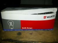 20 x light bulbs 24V 21W SCC made by Wurth