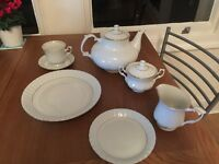 38 Piece Chodziez China Tea Set! Excellent Condition