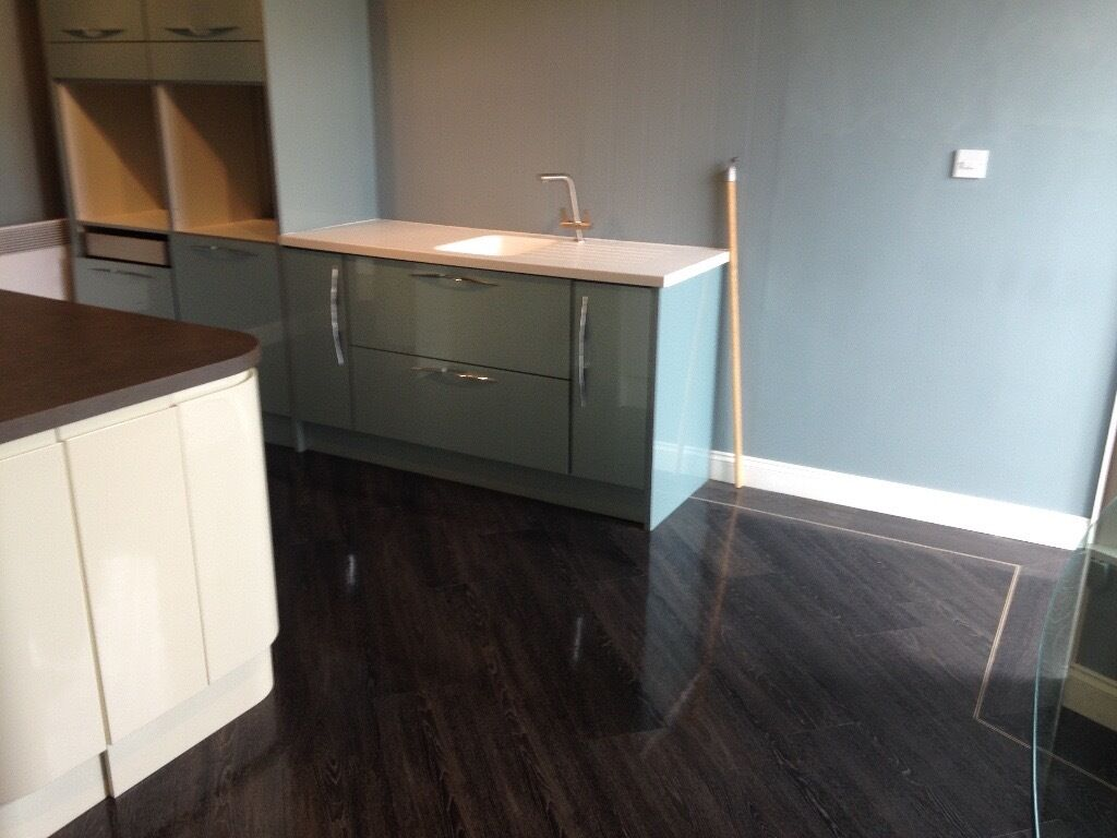 Kitchen Units By Magnet Fusion Blue In Trinity