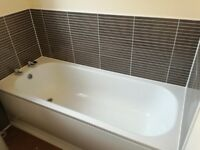 Metal bath, toilet and pedestal basin for sale