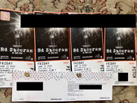 4 x Ed Sheeran standing tickets - Wembley Stadium - Friday 15th June - can sell in 2s