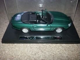 green Jaguar XK8