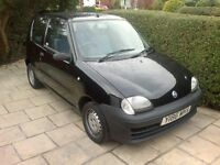 fiat seicento 44000 miles only 2 owners excellent condition god runner mot august 2017