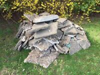 Free concrete/ rubble.