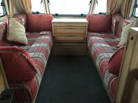 **Clean & Dry*** - 2000 Elddis Firestorm 520 - 4/5 Berth. Serviced. Warranty. Awning/Access.