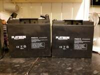 12 volt battery perfect condition fully charged