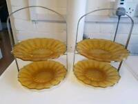 Cake stands & dishes