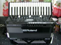 roland fr4x v- accordion lightweight 120 bass